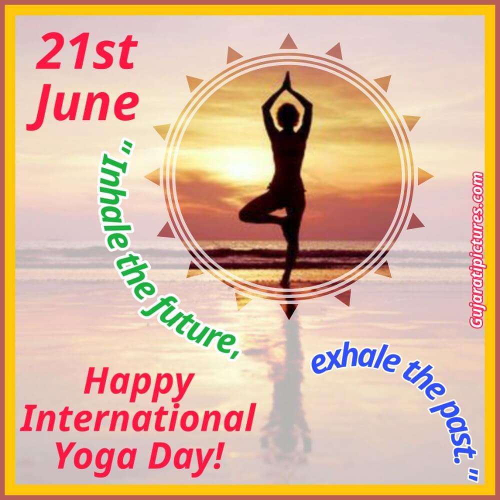 21st June Happy International Yoga Day Gujaratipictures Com