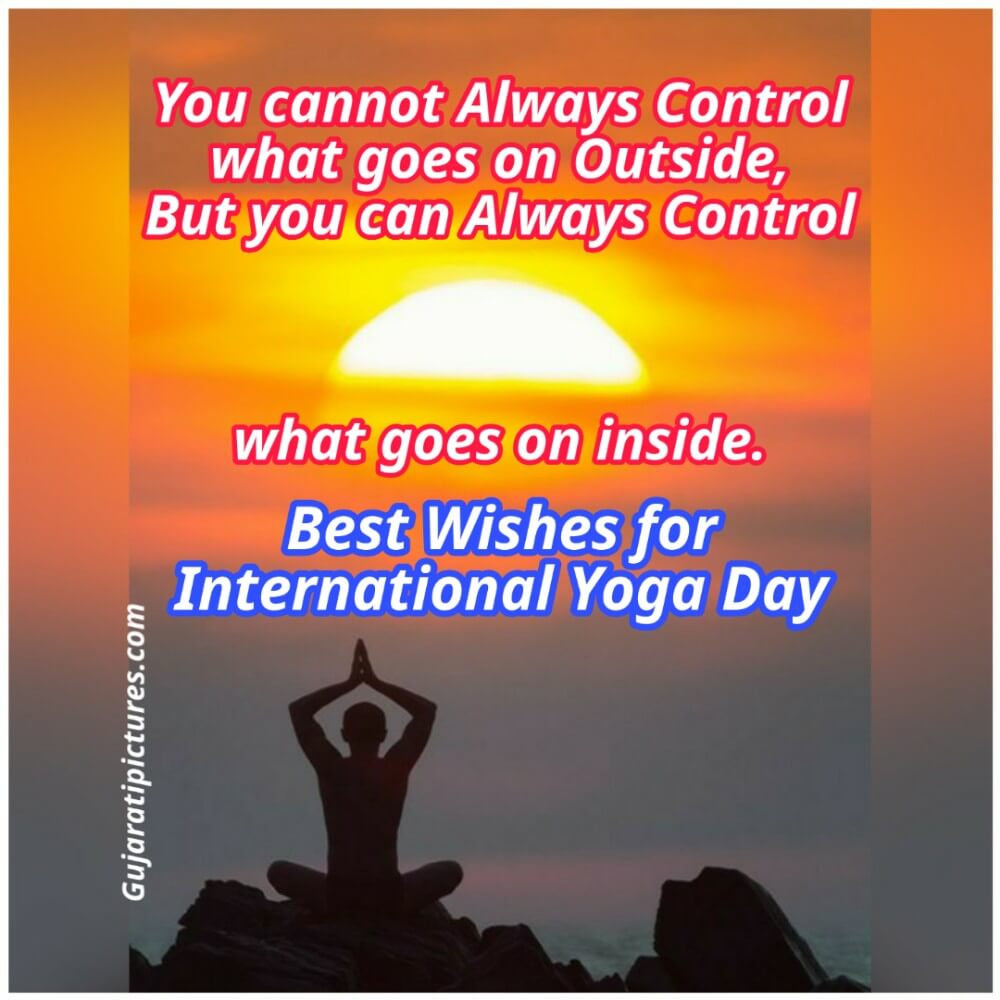 Best Wishes For International Yoga Day Gujaratipictures Com