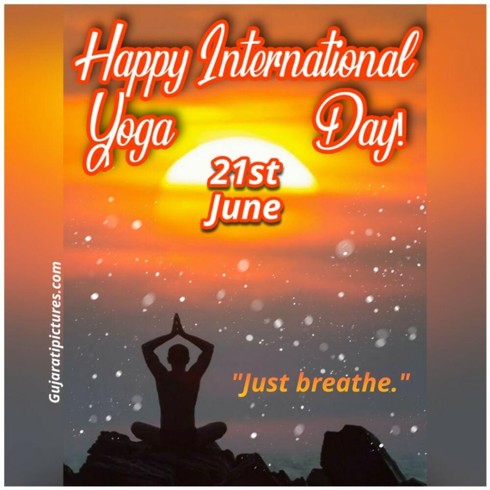 Happy International Yoga Day Gujaratipictures Com